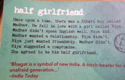chetan bhagat half girlfriend review