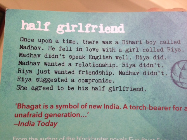 chetan bhagat half girlfriend review