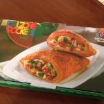 Domino's Veg Calzone Pocket Review