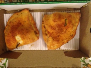 dominos calzone pockets