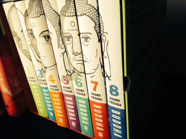 buddha box set review osamu tezuka