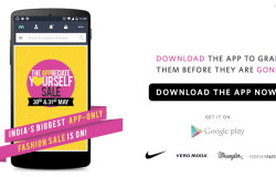 Myntra app sale