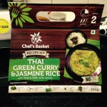 Chef's Basket Review – Thai Green Curry & Jasmine Rice