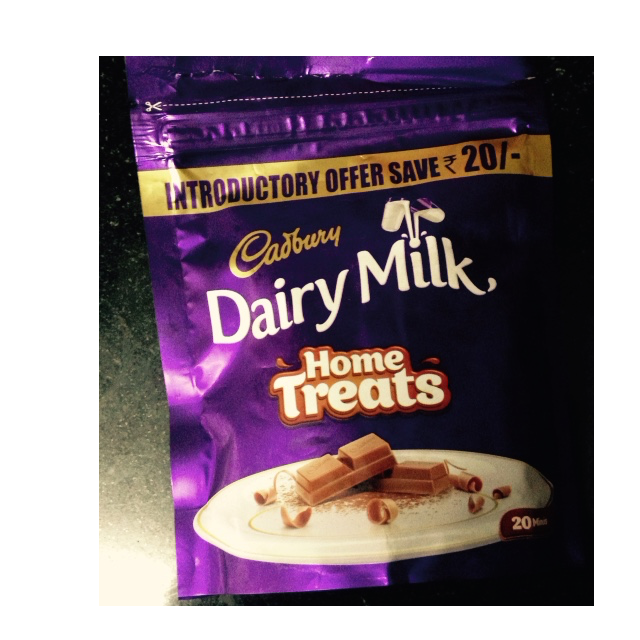 cadbury's dairy milk home treats