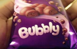 Cadbury's Silk Bubbly
