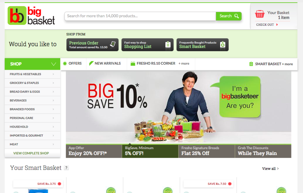bigbasket review