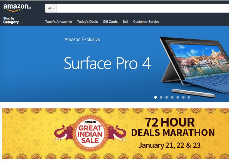 Amazon India - Home of great discounts in online shopping