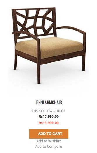 jenni armchair u&i furniture