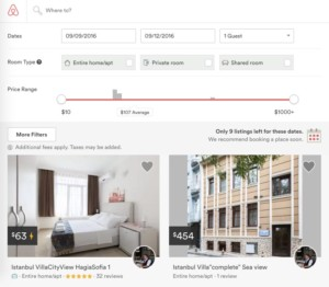 Airbnb Turkey Istanbul review