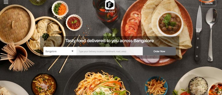 Faasos - Food Delivery at Home
