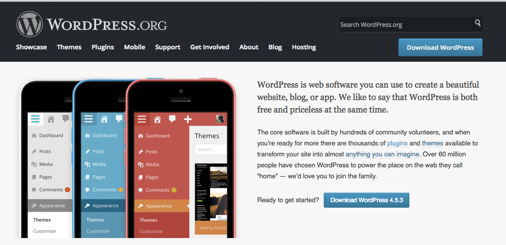 wordpress.org How to build a website with wordpress?