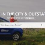 Zoomcar Car Rental – 20% Discount – Coupon Code 2017