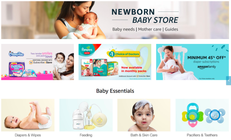 Newborn Baby Shopping List (india)