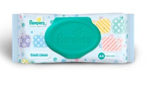 Pampers wet wipes